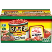 RO*TEL Original Diced Tomatoes & Green Chilies, 10 Ounce (6-Count)