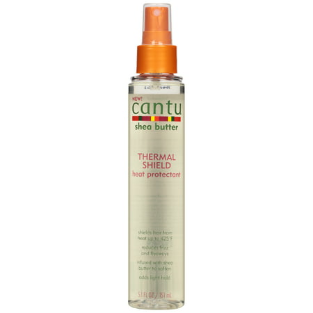 Cantu Shea Butter Thermal Shield Heat Protectant, 5.1 Fl