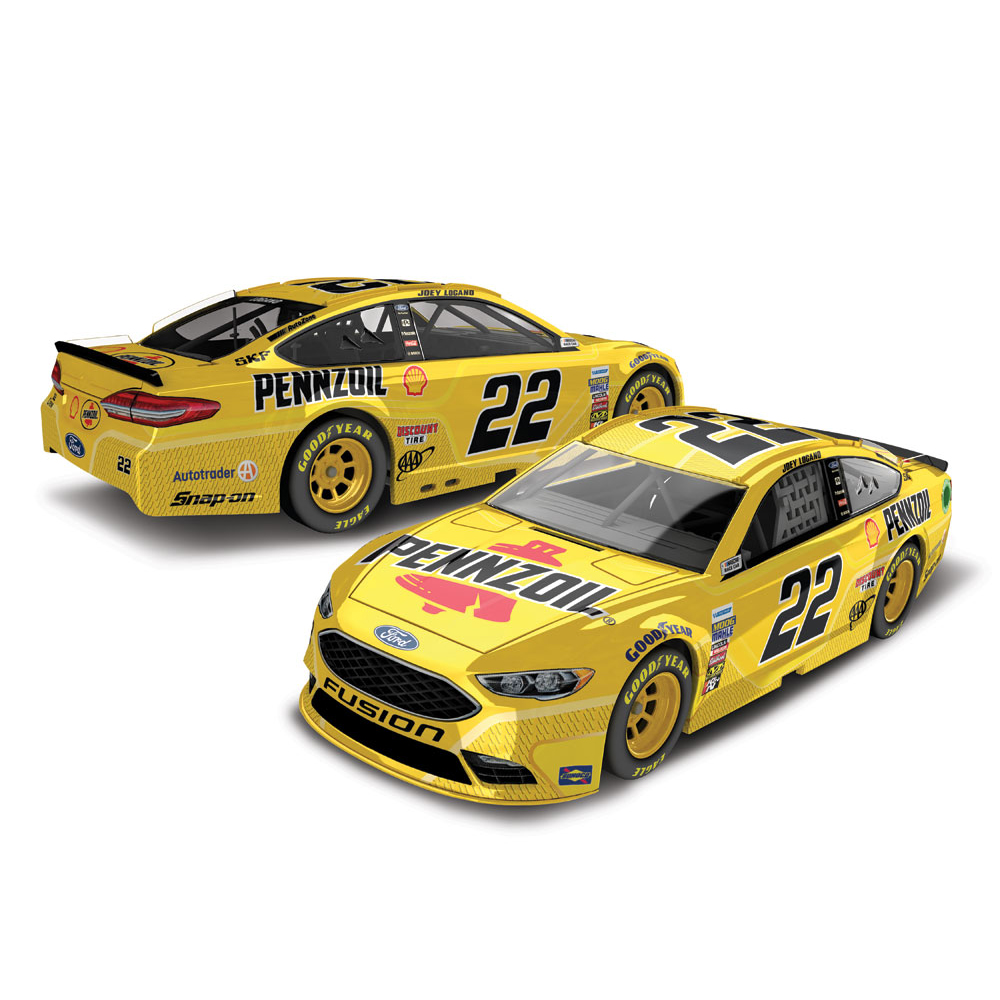 Lionel Racing Joey Logano Pennzoil 2017 Ford Fusion 1:64 Scale HT Die-cast