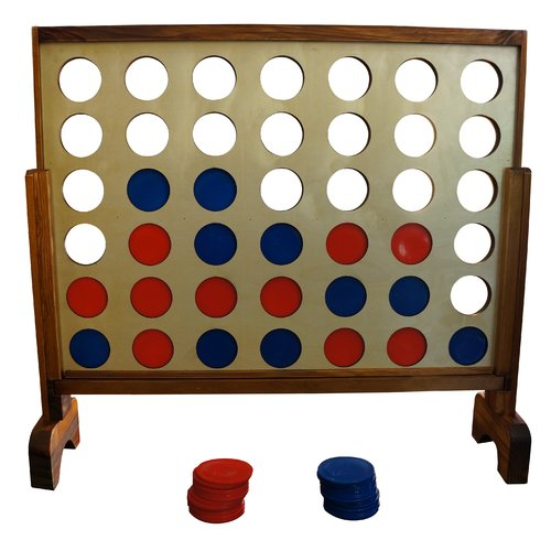 Yard Games Giant 4 In A Row Game by yardgames.us