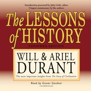 The Lessons of History - Audiobook