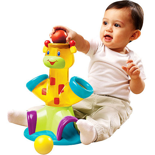 Bright Starts - Drop & Giggle Giraffe