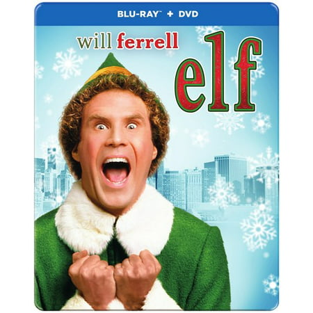 Elf (10th Anniversary) (Steelbook Packaging) (Blu-ray +