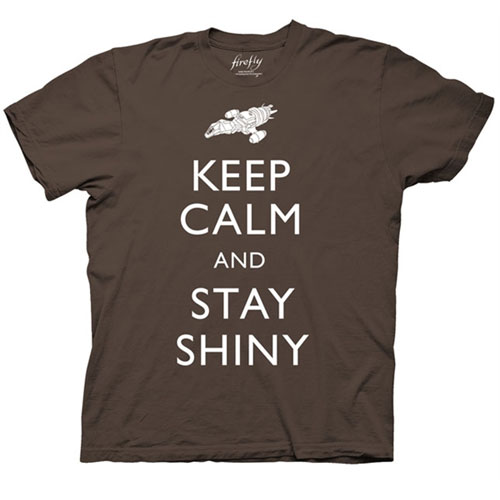 Firefly Keep Calm and Stay Shiny Men's T-Shirt