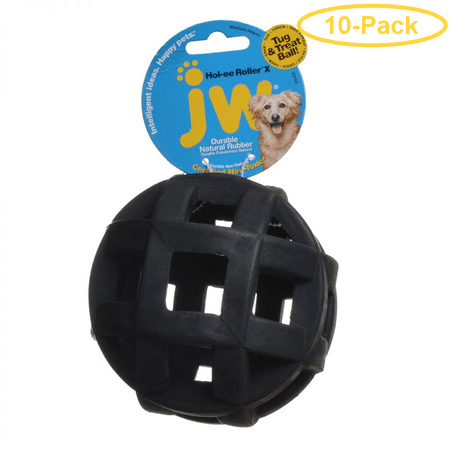 JW Pet Hol-ee Mol-ee Extreme Rubber Chew Toy 5 Diameter - Pack of 10](Extreme Tits)