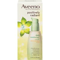 Moisturizer and Sunscreen SPF 30 Positively Radiant 2.5 oz by Aveeno Bestselling