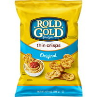 Rold Gold Original Thin Crisps Pretzels, 8 3/4 oz