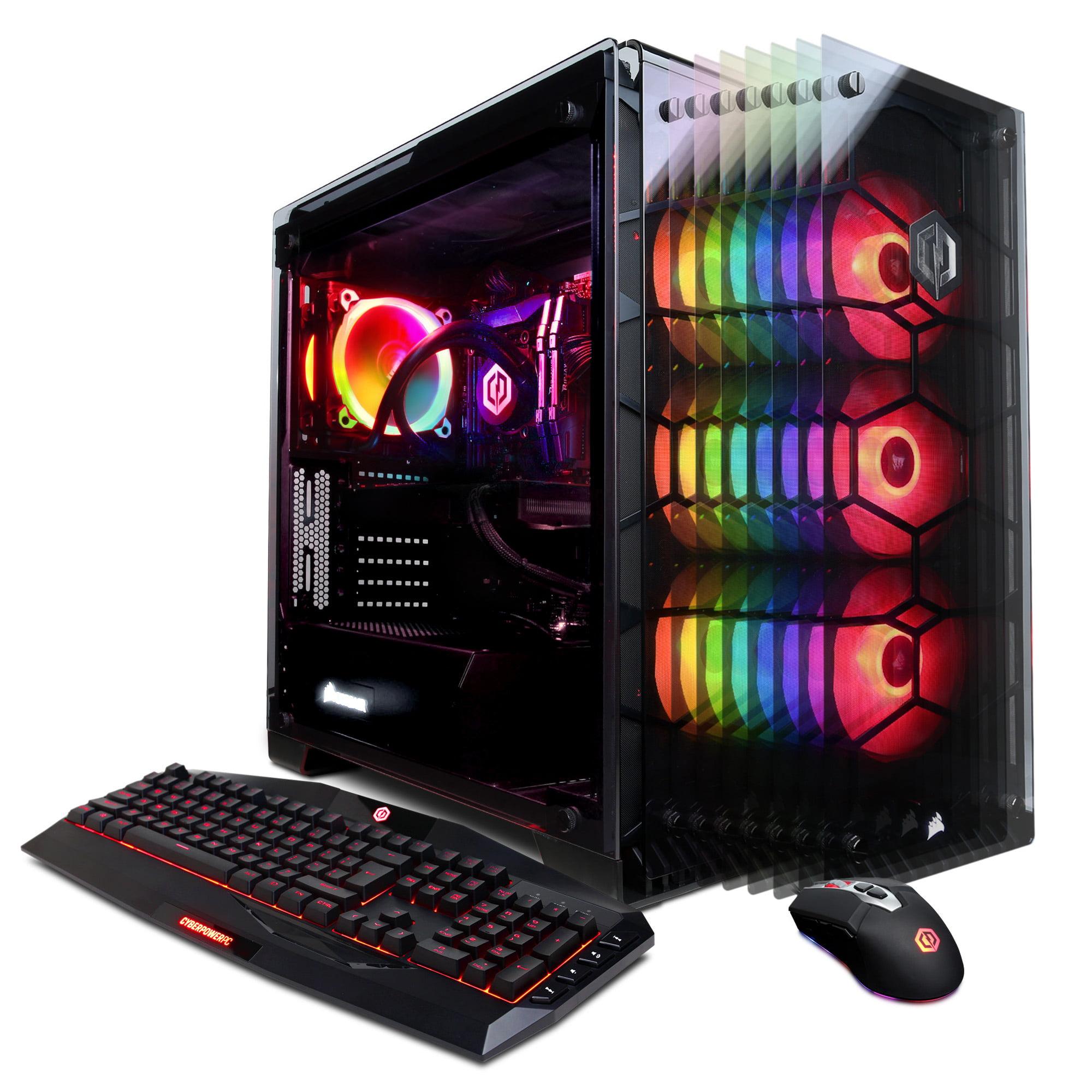 CYBERPOWERPC Gamer Supreme Liquid Cool SLC9040CPG w/ Intel i9-7960X 2.8GHz, 16GB RAM, NVIDIA GeForce RTX 2080 8GB, 480GB SSD, 2TB HDD, Windows 10 Home 64-Bit Gaming PC (no monitor)
