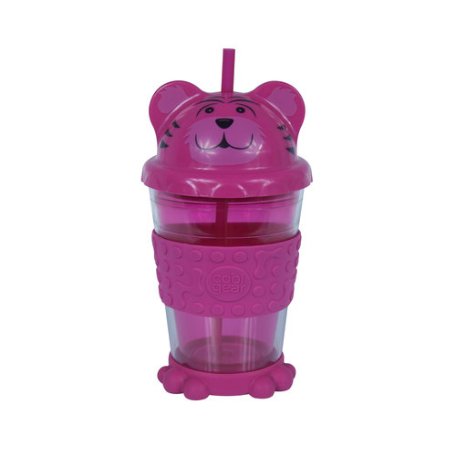 Cool Gear 16 oz  Zooey Chiller, Pink
