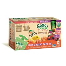 Applesauce: GoGo SqueeZ Fruit & VeggieZ Organic