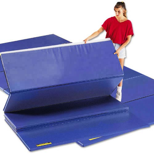gsc 4u0027 x 8u0027 bonded foam mat royal blue