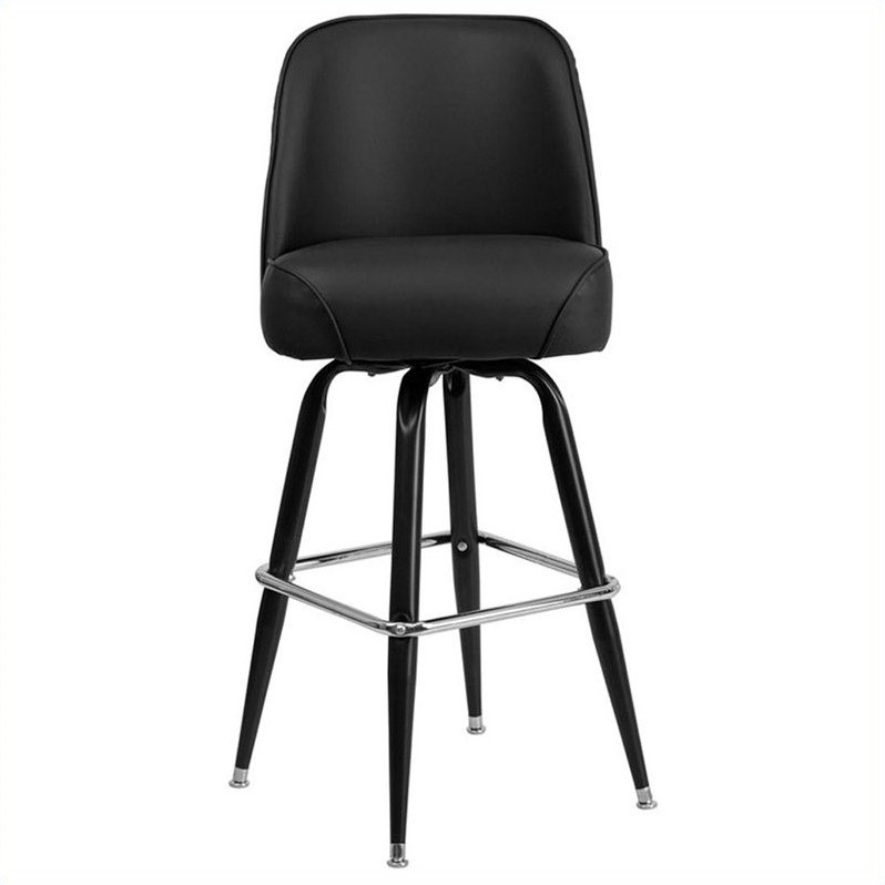 Flash Furniture 31 Quot Bar Stool With Swivel Bucket Seat