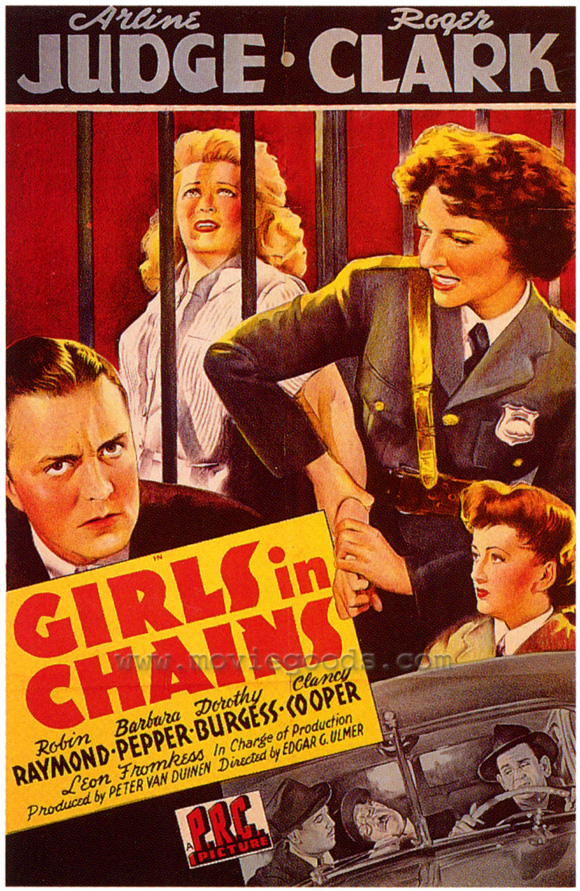 Girls in Chains POSTER Movie (27x40) by