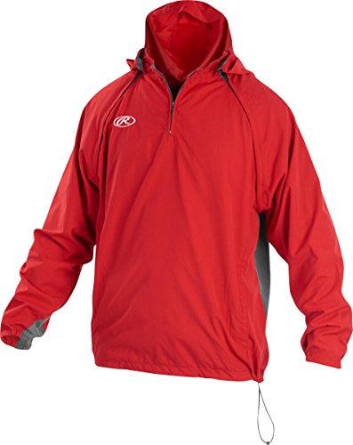 Rawlings Triple Threat Adult Jacket, Black, Size M