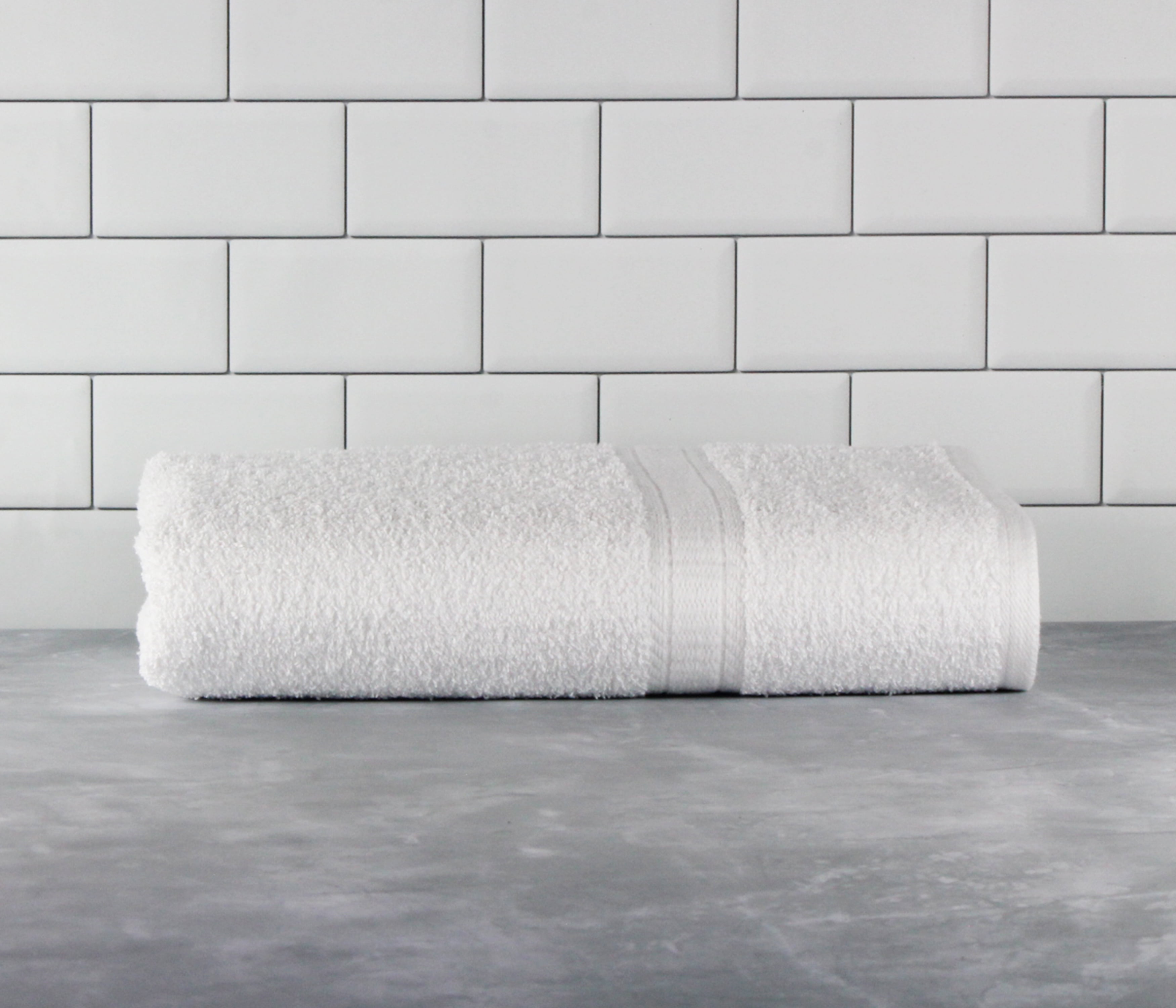 Details about  /Valtellina 140 GSM Cotton Bath towel 1 piece , White -2o1