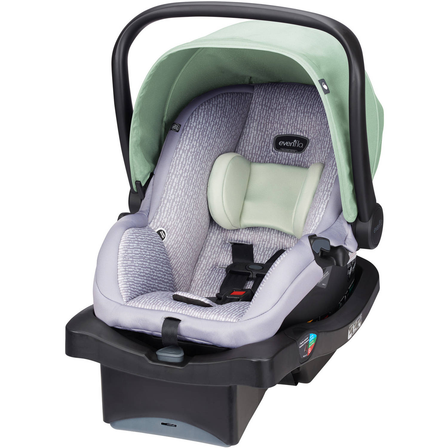 Evenflo LiteMax Infant Car Seat, Choose Your Pattern