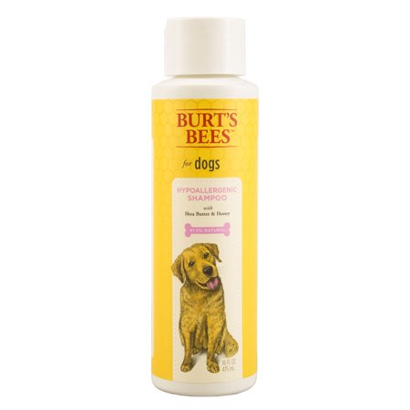 Burts bees hypoallergenic shampoo for dogs, 16-oz bottle
