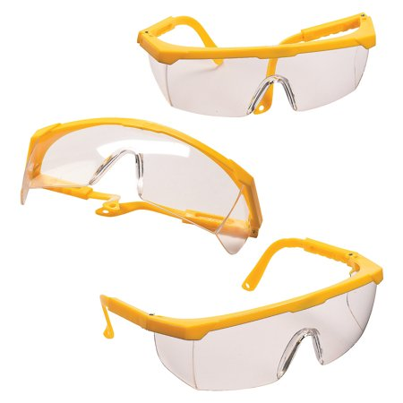 Fun Express - Kids Construction Costume Glasses for Birthday - Apparel Accessories - Eyewear - Novelty Glasses - Birthday - 12 Pieces](Costume Eyewear)