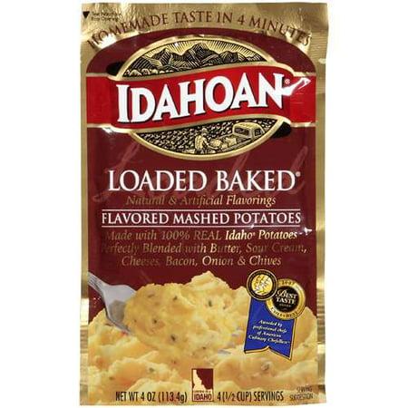 Idahoan Loaded Baked Mashed Potatoes, 4 oz