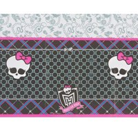 "Monster High Plastic Table Cover 54"" x 96"""