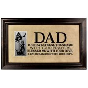The James Lawrence Company 'Dad' Framed Textual Art