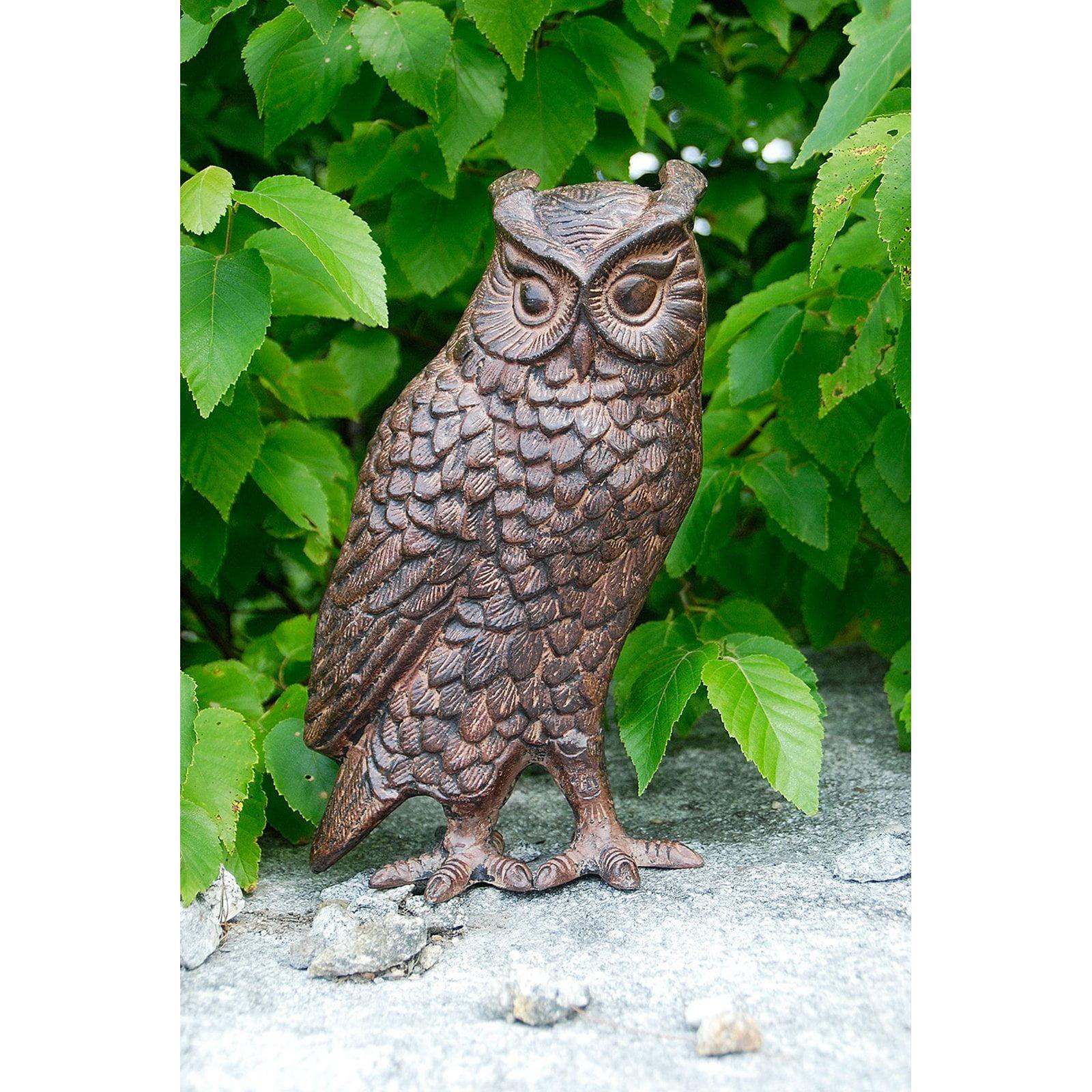 Achla Designs Screech Owl Garden Statue