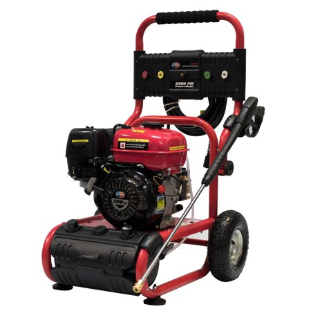 All Power Heavy Duty 3200 Psi 2 6 Gpm Gas Pressure Washer