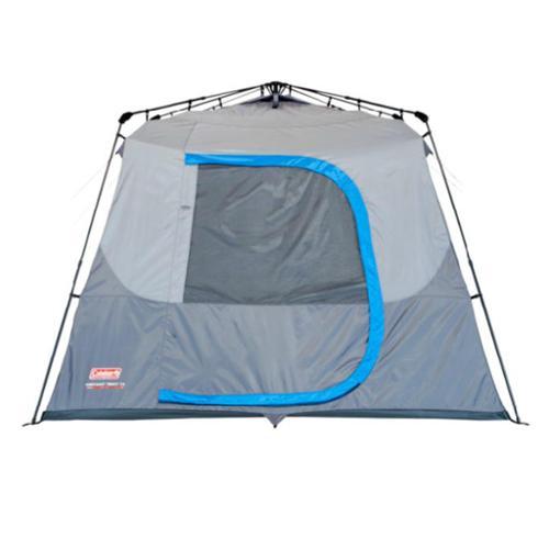 COLEMAN 10 Person Waterproof Family C&ing Instant Cabin Tent w/ Bag| 14u0027 x 10u0027 - Walmart.com  sc 1 st  Walmart & COLEMAN 10 Person Waterproof Family Camping Instant Cabin Tent w ...
