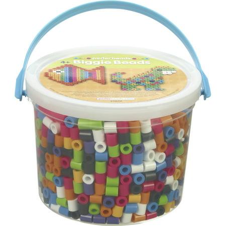 Perler BIGGIE Beads 1,200/Pkg-Assorted Colors - image 1 of 1