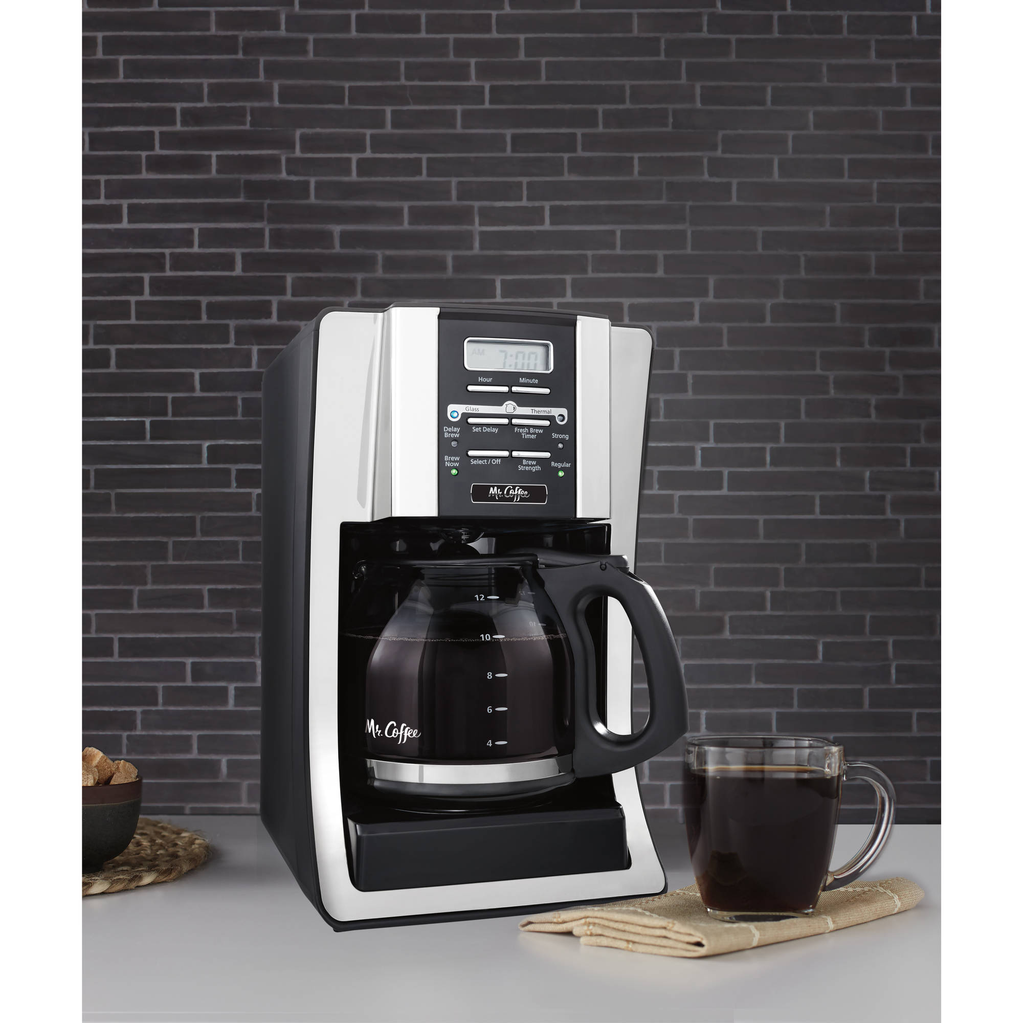 Mr Coffee Coffee Maker Bvmc Sjx36gt : Product Features:
