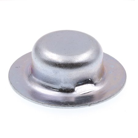 Prime-Line 9078562 Axle Hat Push Nuts, 1/2 in., Zinc Plated Steel, 10-Pack