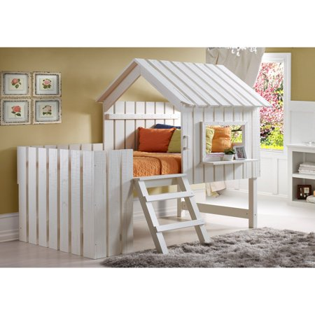 Donco Kids Twin Cabana Youth Loft Bed