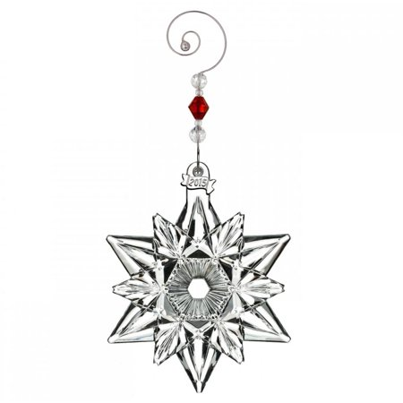 - Waterford - 2015 Annual Ornament - Snow Crystal Pierced