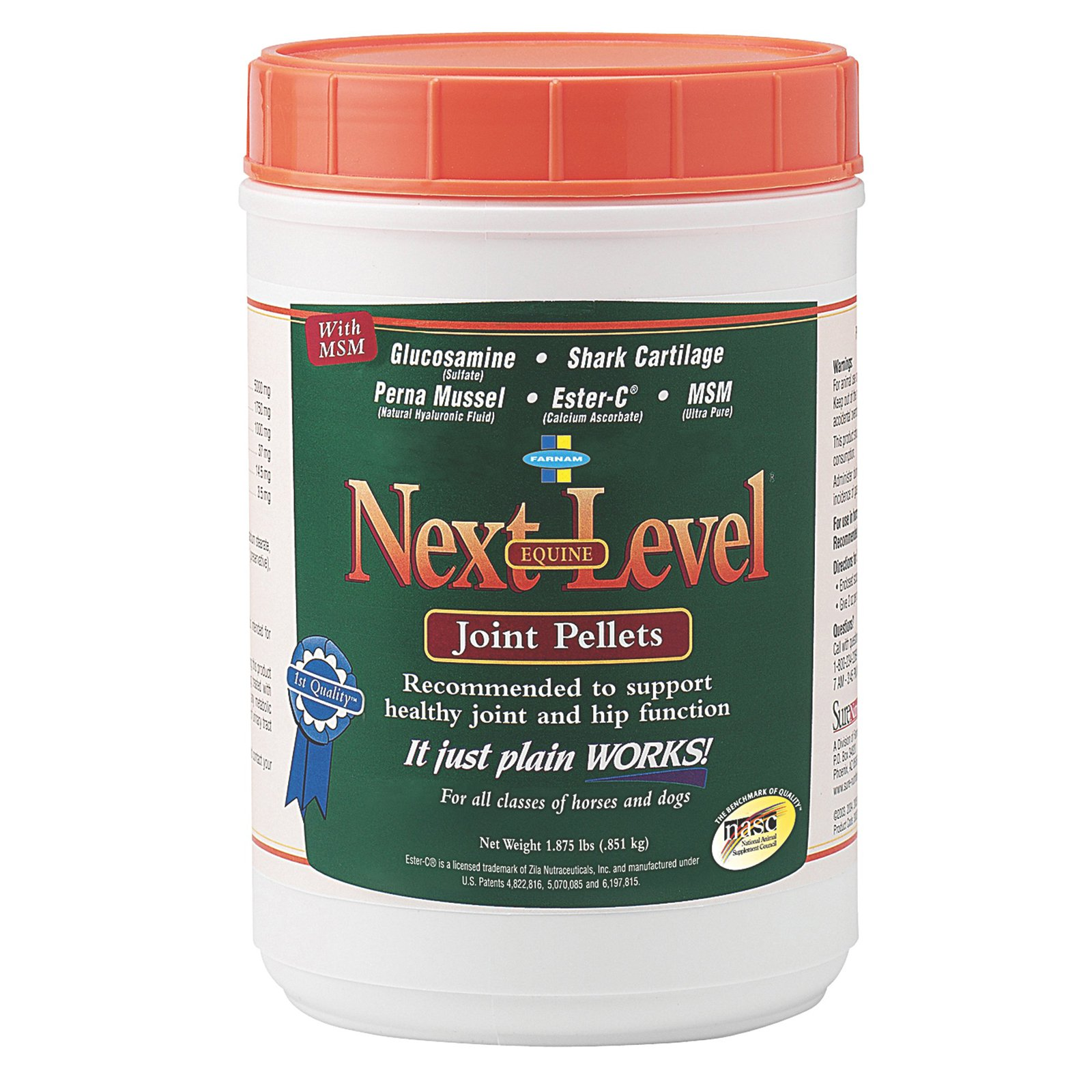 Farnam-Sure Nutrition Next Level Joint Pellets