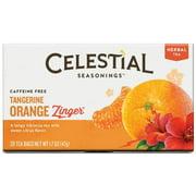 Celestial Seasonings Herbal Tea, Tangerine Orange Zinger 20 ea (Pack of 2)