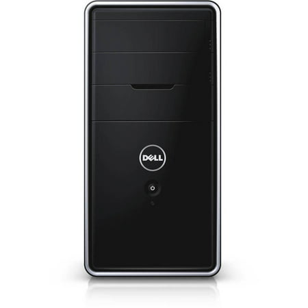 Dell Black 3000 (3847) Desktop PC with Intel Core i3-4170 Processor, 4GB Memory, 500GB HD and Windows 10 (Monitor Not Included)