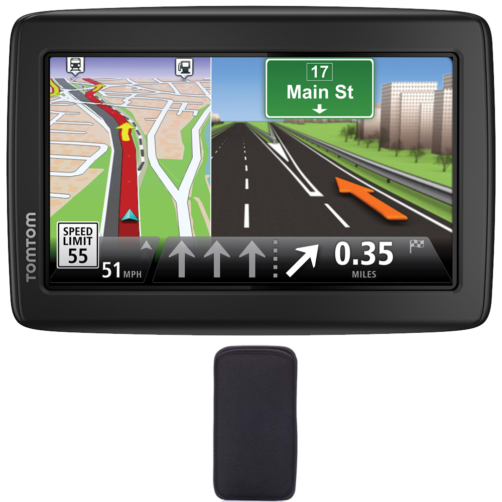 TomTom VIA 1415M Automotive Mountable GPS Navigation Devi...