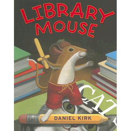 Library Mouse #1 (Daniels Mouse)