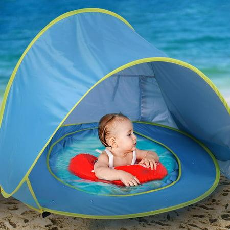 Garosa Portable Infant Uv Protection Baby Beach Tent