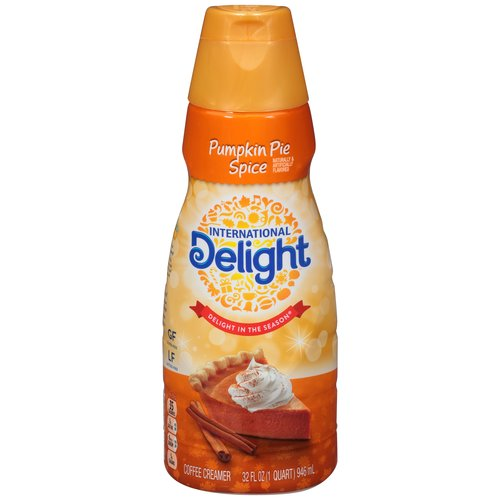 International Delight Pumpkin Pie Spice Liquid Coffee Creamer, 32 fl oz