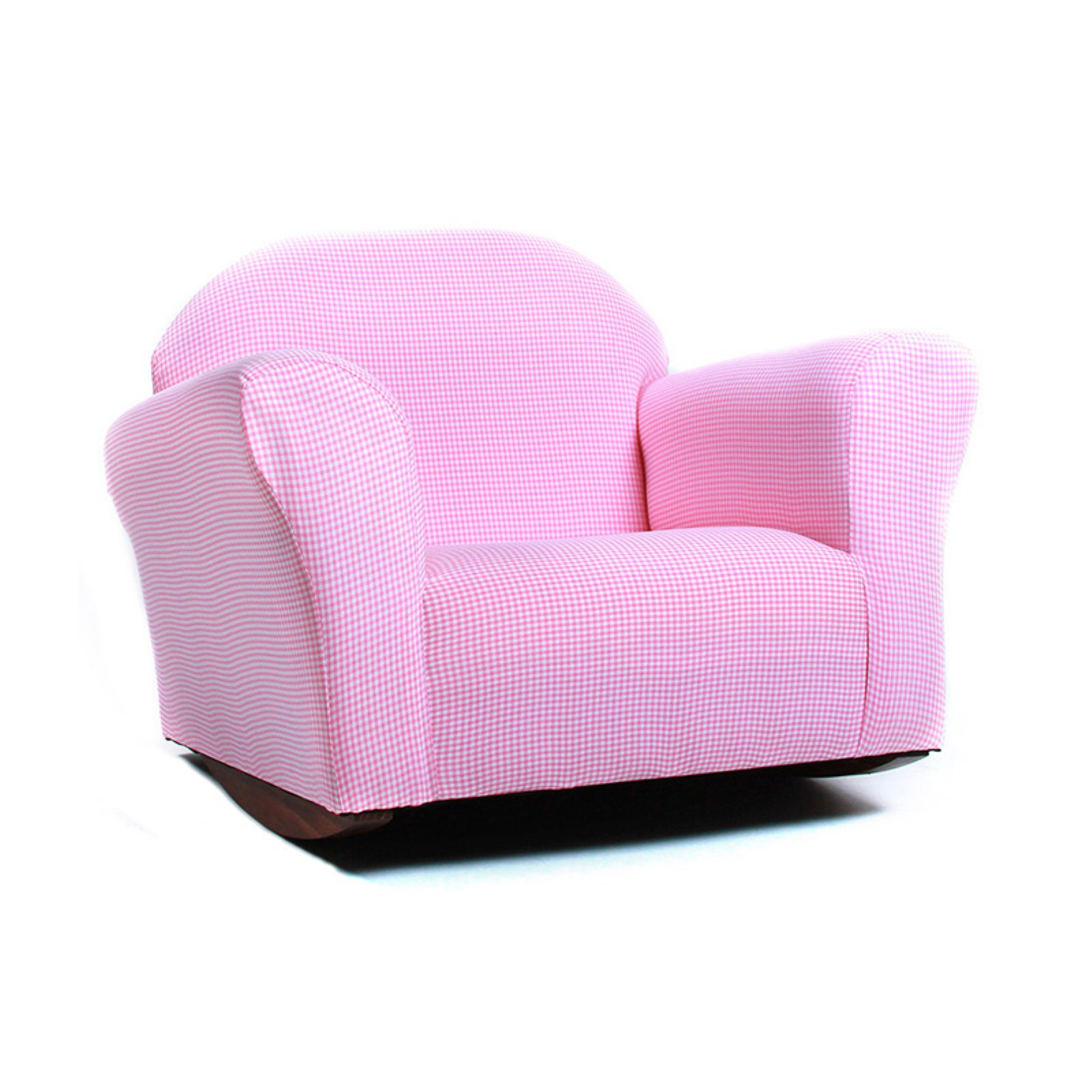 Fantasy KEET Roundy Gingham Rocking Kids Chair