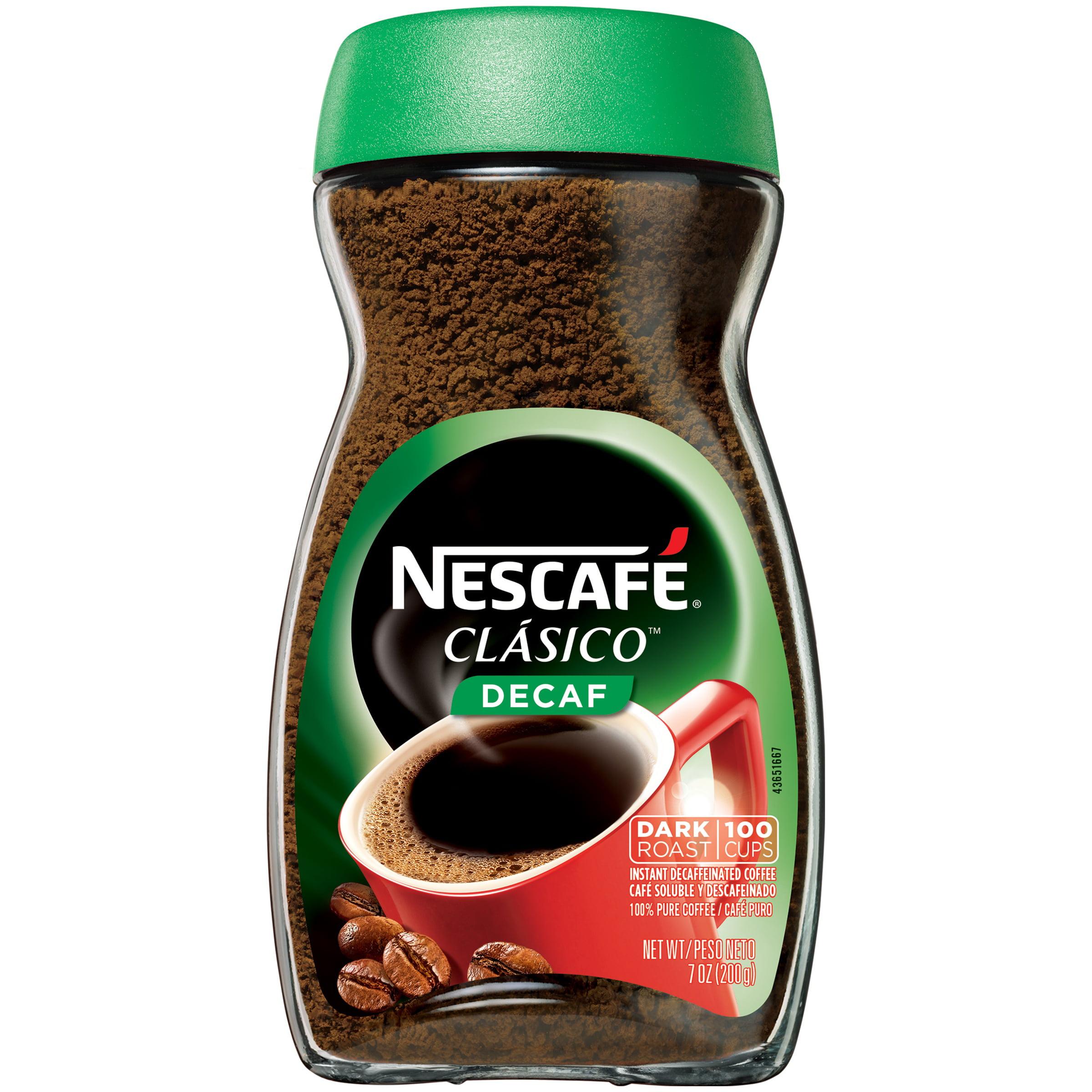 NESCAFE CLASICO Decaf Instant Coffee 7 oz. Jar