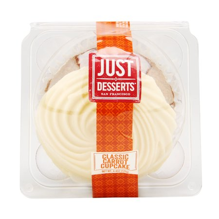 Pack of 3 - Classic Carrot Cupcake, 4.4 oz