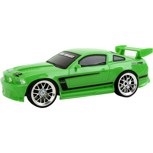 New Bright Ford Mustang Boss Radio-Controlled Vehicle, Green