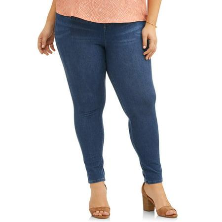 Women's Plus Size Full Length Super Soft Jegging