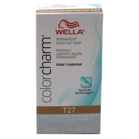 Wella Color Charm - Liquid Creme Haircolor - # T-27