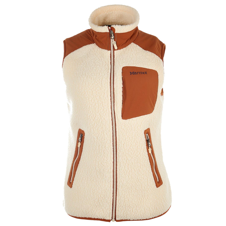 marmot women's wiley fleece vest