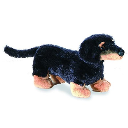 Vienna Dachshund Mini Flopsie 8 inch - Stuffed Animal by Aurora Plush (16636) ()