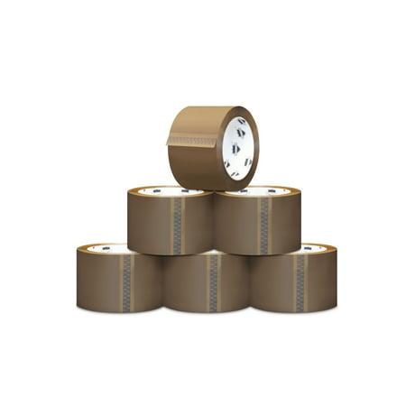 Hotmelt Carton Sealing Packaging Tape 6 Rolls + 2