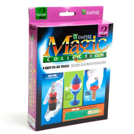 Coin Slide, Crazy Cube & More Magic Tricks Kit - Magic Kit